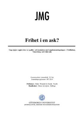 thumbnail of Nordh och Wändahl Metodrapport