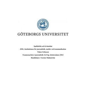 thumbnail of Spelkärlek och kvinnohat Viktor Eriksson